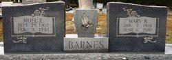 Mary P. <i>Blalock</i> Barnes