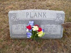 John H Jack Plank