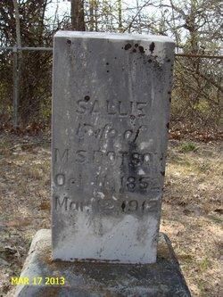 Sarah J. <i>Williams</i> Chipley Dotson