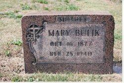 Mary <i>Butvin or Butwin</i> Bulik