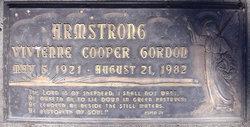 Vivienne Cooper <i>Gordon</i> Armstrong