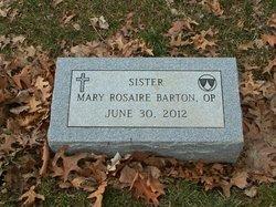 M. Rosaire Barton