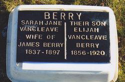Sarah Jane <i>Vancleave</i> Berry
