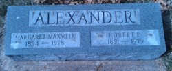 Margaret <i>Maxwell</i> Alexander