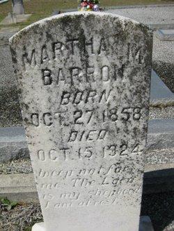 Martha M. <i>McCracken</i> Barron