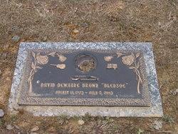 David DeWayne Bledsoe Brown