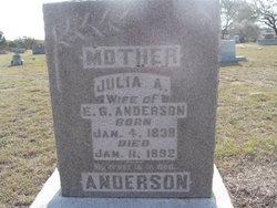 Julia Deane <i>Vernon</i> Anderson