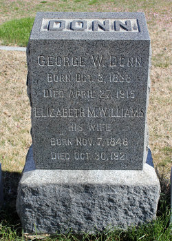 Elizabeth M. <i>Williams</i> Donn