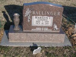 Marilyn <i>Loades</i> Ballinger