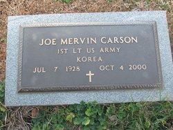 Joe Mervin Carson