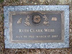 Ruth <i>Clark</i> Webb