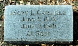 Mary L <i>Murray</i> Carlisle