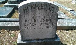 Henrietta Klasing