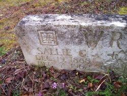 Sallie Green <i>Spence</i> Wray