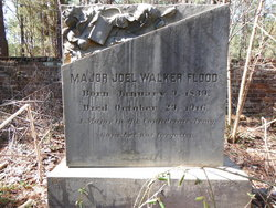 Maj Joel Walker Flood, II