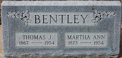 Martha Ann <i>Lowe</i> Bentley