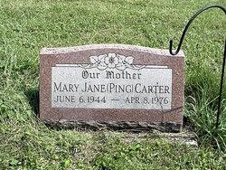 Mary Jane <i>Ping</i> Carter