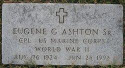 Eugene G Ashton, Sr