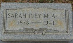 Sarah Emily <i>Ivey</i> McAfee