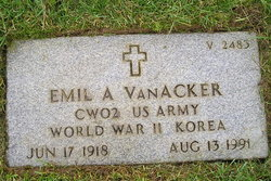 Emil A Van Acker