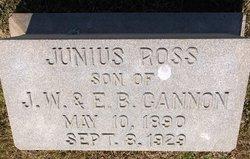 Junius Ross Cannon