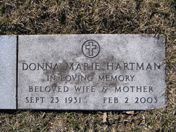 Donna Marie <i>Harris</i> Hartman
