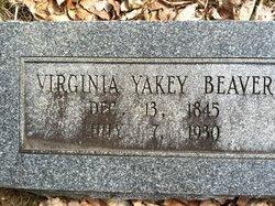 Virginia <i>Yakey</i> Beaver