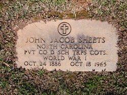 John Jacob Sheets