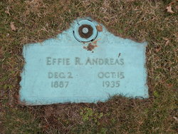 Effie Rebecka <i>Bixler</i> Andreas