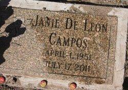 Janie <i>De Leon</i> Campos