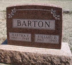 Martha Enora <i>Henthorn</i> Barton