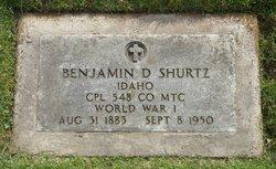 Benjamin Dealey Shurtz