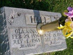 Ola Anna <i>Stanturf</i> Hill