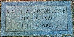 Mattie <i>Wigginton</i> Joyce