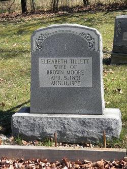 Elizabeth <i>Tillett</i> Moore