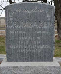 Martha Elizabeth <i>Lawrence</i> Crumbaker