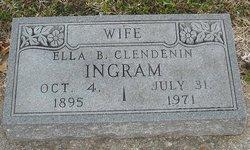 Ella B <i>Ingram</i> Clendenin