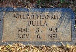 William Franklin Bulla, Sr