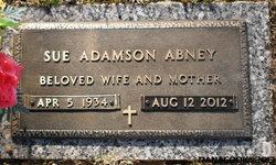 Martha Sue <i>Adamson</i> Abney