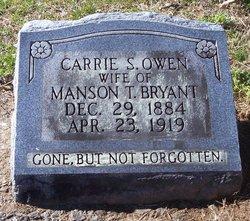 Carrie Savannah <i>Owen</i> Bryant