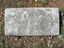 Margaret Annie <i>Clapp</i> Aiken