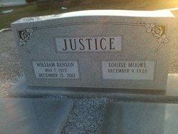 William Benson Justice