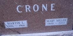 Mary Charlotte <i>Miller</i> Crone