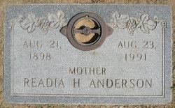 Readia Hazel Big Momma <i>Brummett</i> Anderson
