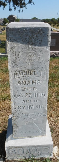 Rachel <i>Tipton</i> Adams