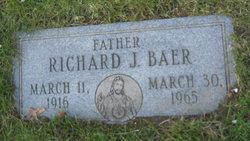 Richard J Baer