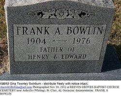 Frank Bowlin