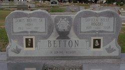 Savilla Belle <i>Rogers</i> Betton