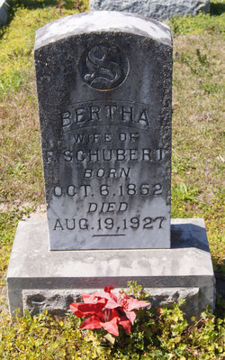 Bertha <i>Kornfuherer</i> Schubert