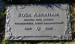 Rosa Abraham